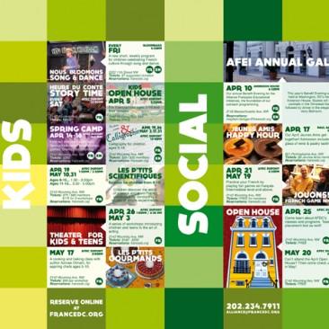 Cultural Calendar, April-May 2014