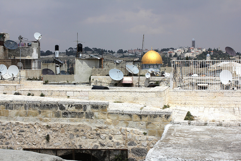 The rooftops of Jerusalem.