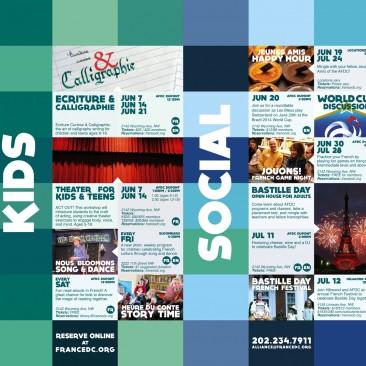Cultural Calendar, June-July 2014